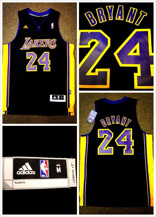 0ac9e594439 LA Lakers Kobe Bryant Hollywood Night Jersey - Yelp