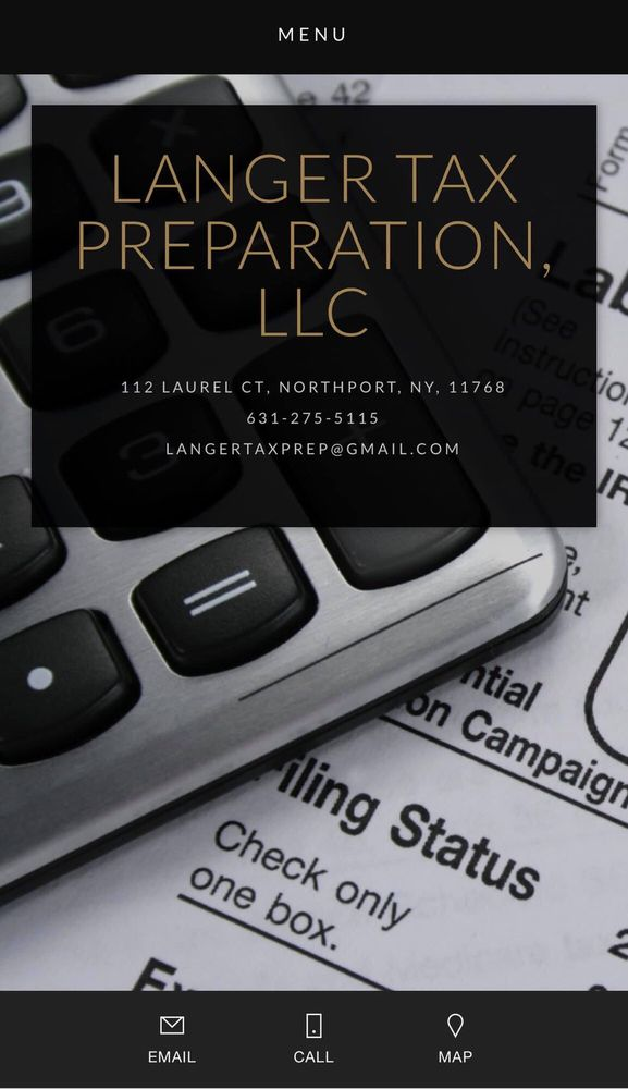 Langer Tax Preparation: 112 Laurel Ct, Northport, NY