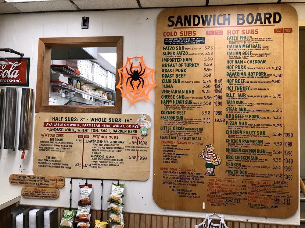 Fatzo's Sub & Pizza Shop: 2001 Washington St, Two Rivers, WI