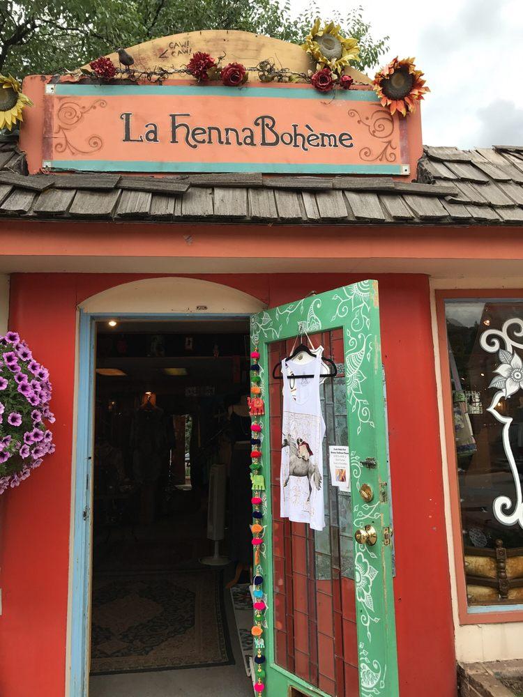 La Henna Boheme: 801 Manitou Ave, Manitou Springs, CO