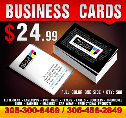 All group designer screen printingt shirt printing 2724 w 84th photo of all group designer hialeah fl united states business cards from reheart Gallery