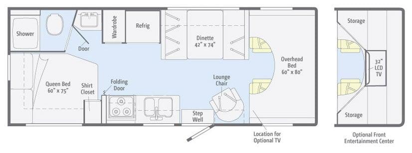 24 Winnebago Chalet Floor Plan Yelp