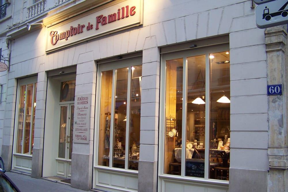 Comptoir de famille closed home decor 60 rue for Comptoir de famille decoration