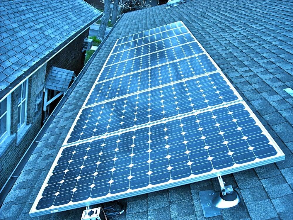 Windy City Renewable Energy Solar Installation 823 S