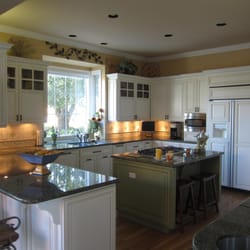 Photo Of Century Cabinets Concord Ca United States Two Color Painted Kitchen