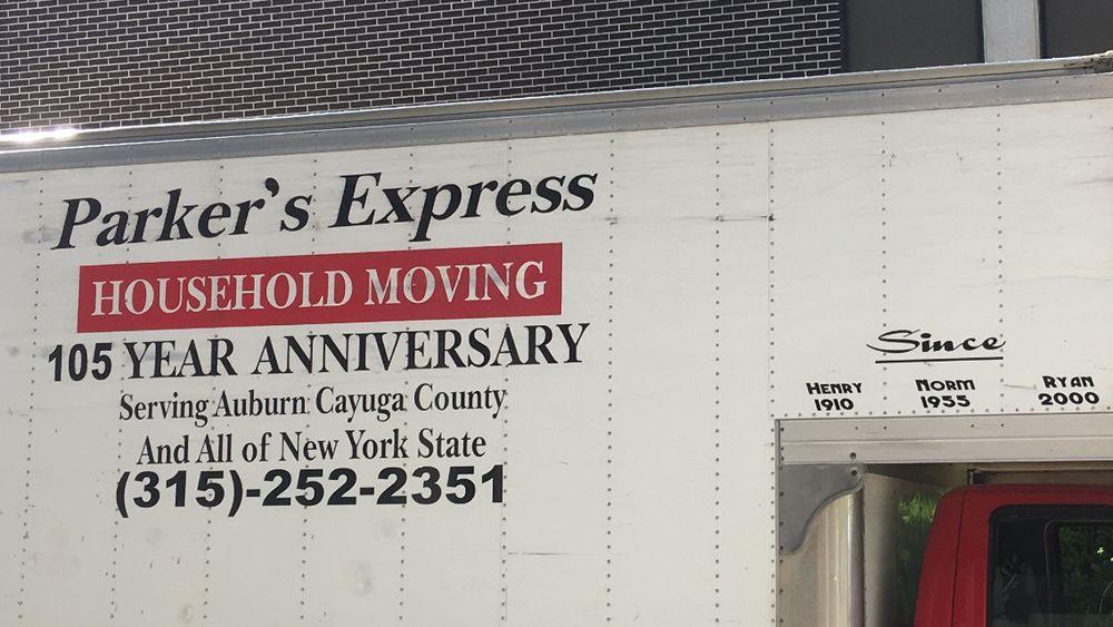 Parker's Express: Auburn, NY