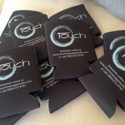 Photo of Touch Massage Studio - Charlotte, NC, United States. Koozies ...
