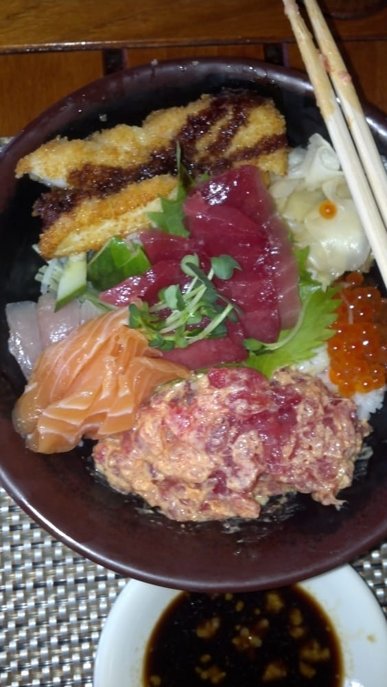 Sushi bowl good inexpensive yelp for Uncle s fish market and grill