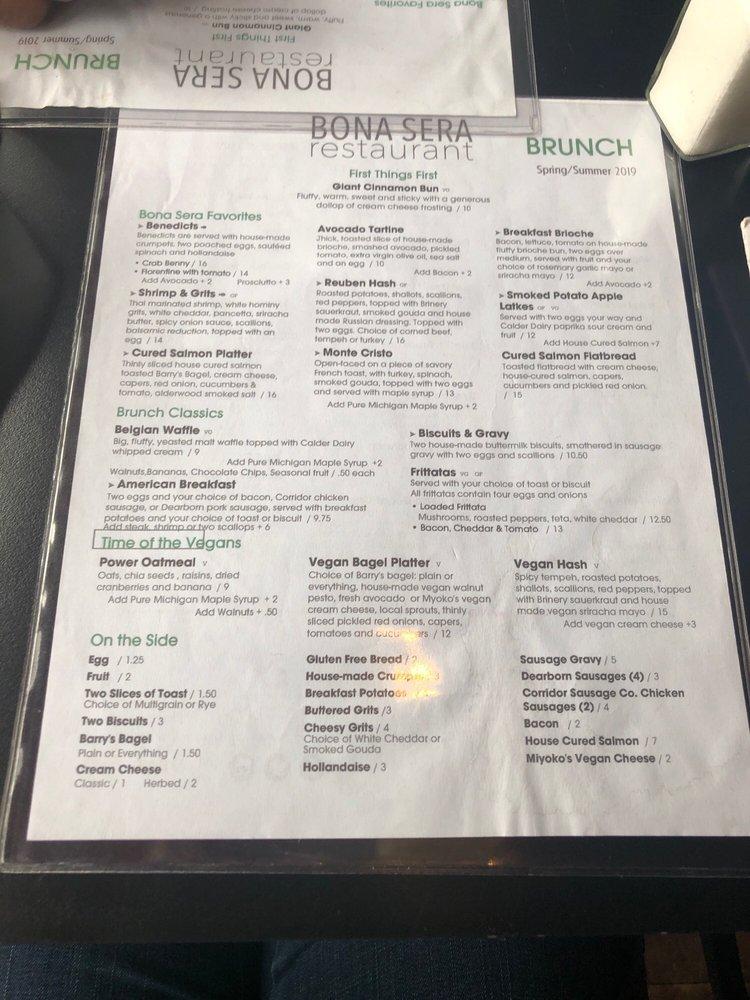 Bona Sera Restaurant - 243 Photos & 161 Reviews - Italian