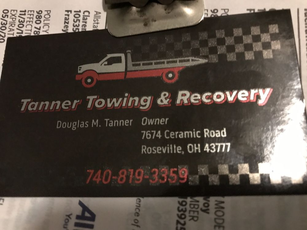 Tanner Towing & Recovery: 7674 Ceramic Rd, Roseville, OH