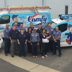 Photo Of Comfy Heating Air Conditioning Inc San Leandro Ca United States