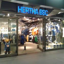 hertha bsc fanshop articoli sportivi europaplatz 1 tiergarten berlino berlin germania. Black Bedroom Furniture Sets. Home Design Ideas