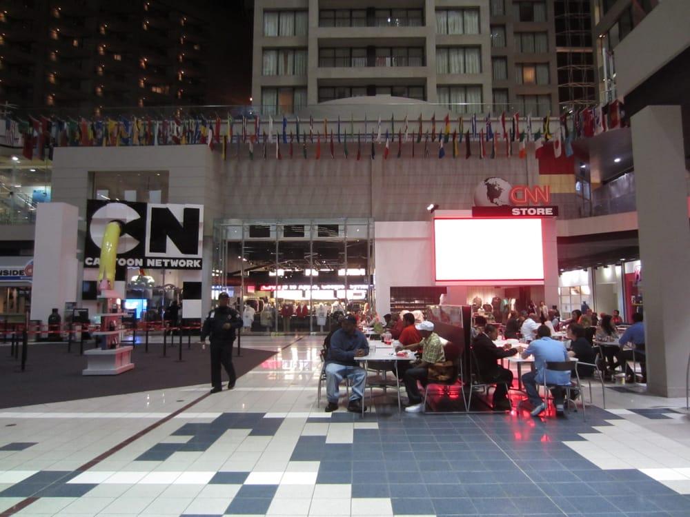 Restaurants In Cnn Center Food Court