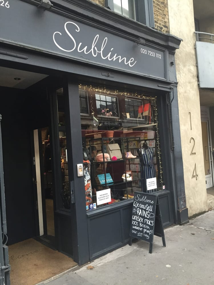 Sublime shop ropa de mujer 128 st john street - Cyberdog london reino unido ...