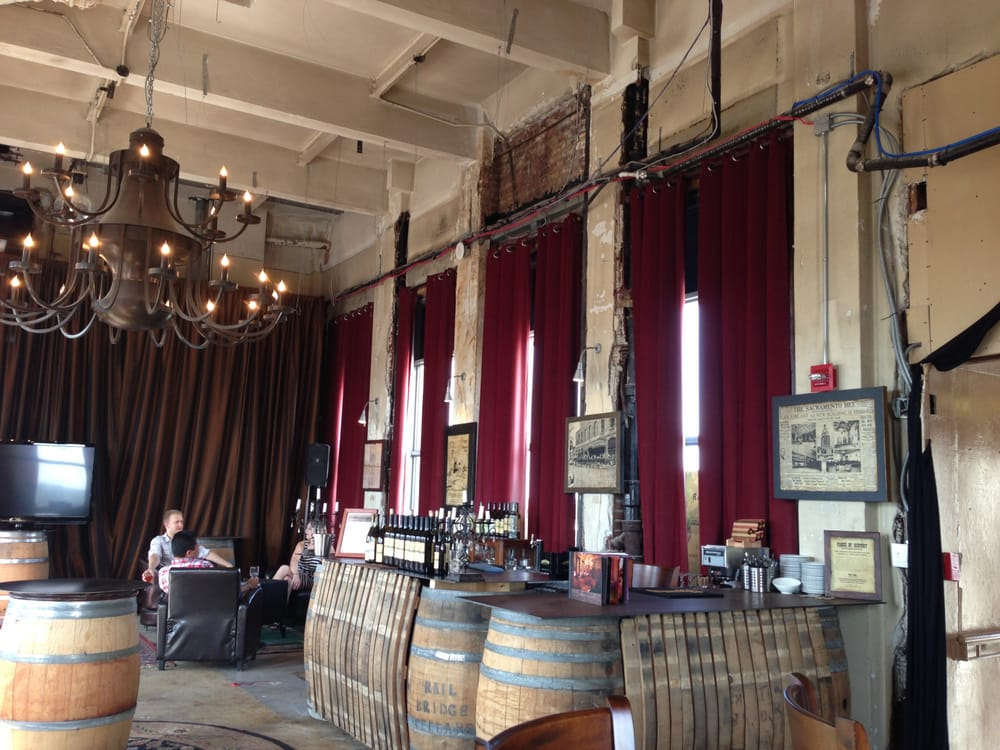 The Railbridge Tasting Room In The Penthouse Of The Elk