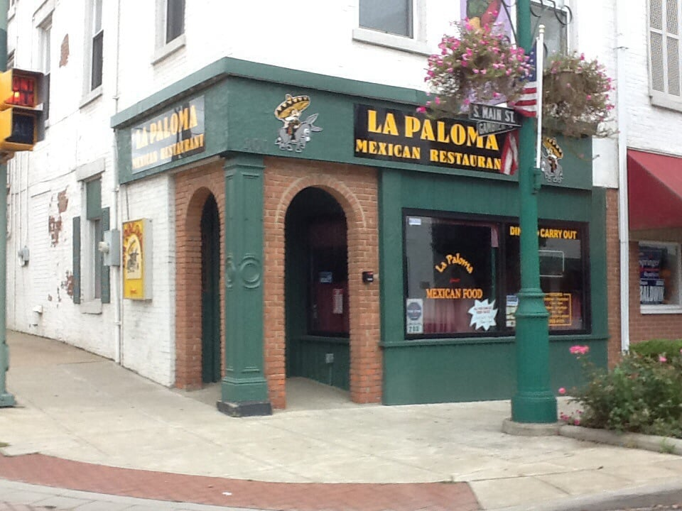 Lapaloma Mexican Restaurant 10 Reviews Mexican 200 S