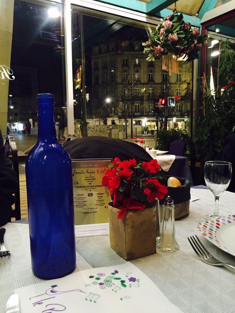 Restaurant Ambiance Sympa Intimiste Bordeaux