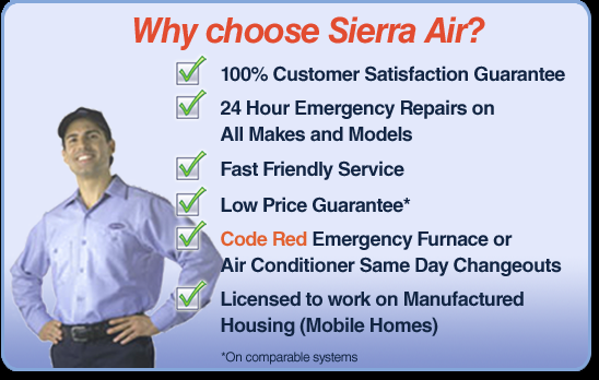 Sierra Air-Heating And Air Conditioning