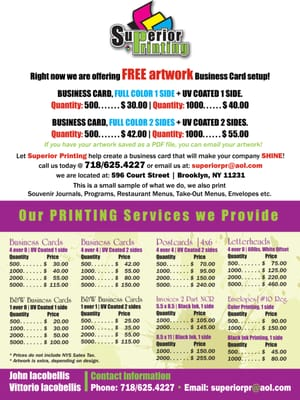 Superior printing get quote printing services 596 court st photo of superior printing brooklyn ny united states this is our basic reheart Gallery