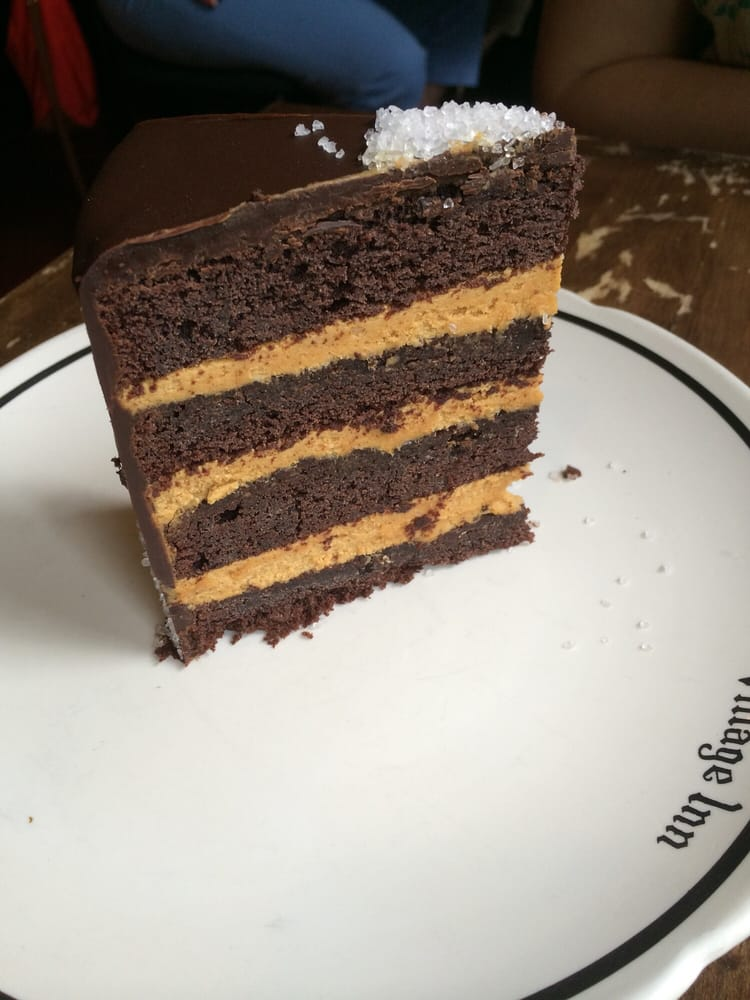 Cake Artist Cafe New Paltz Ny : Dark chocolate cake with salted caramel between the layers ...