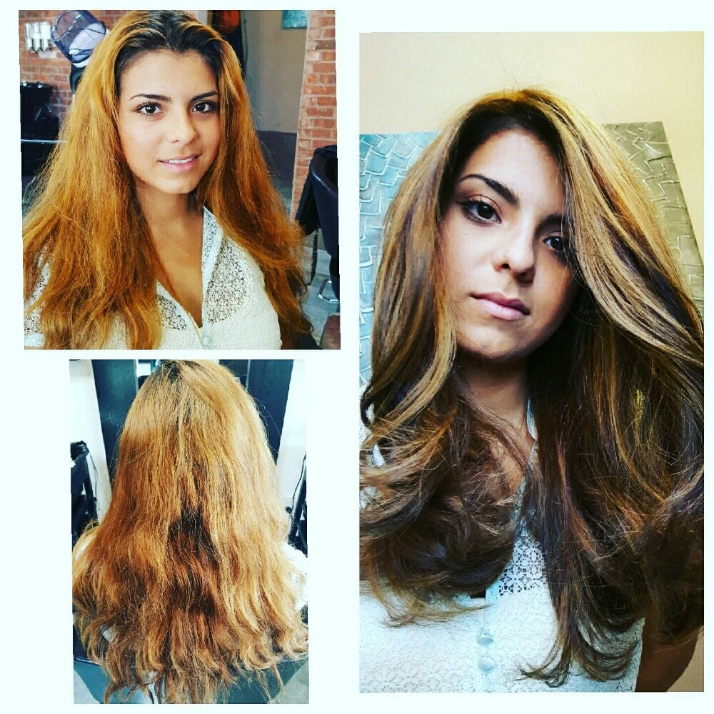 Biolage Hair Style Ombre On Long Studio Rush Astoria Yelp