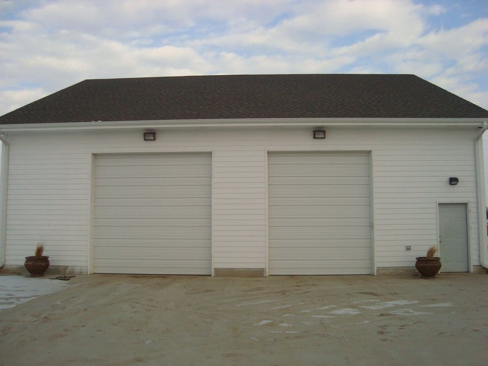 Custom 48x48 Garage Hardiplank Lap Siding Yelp
