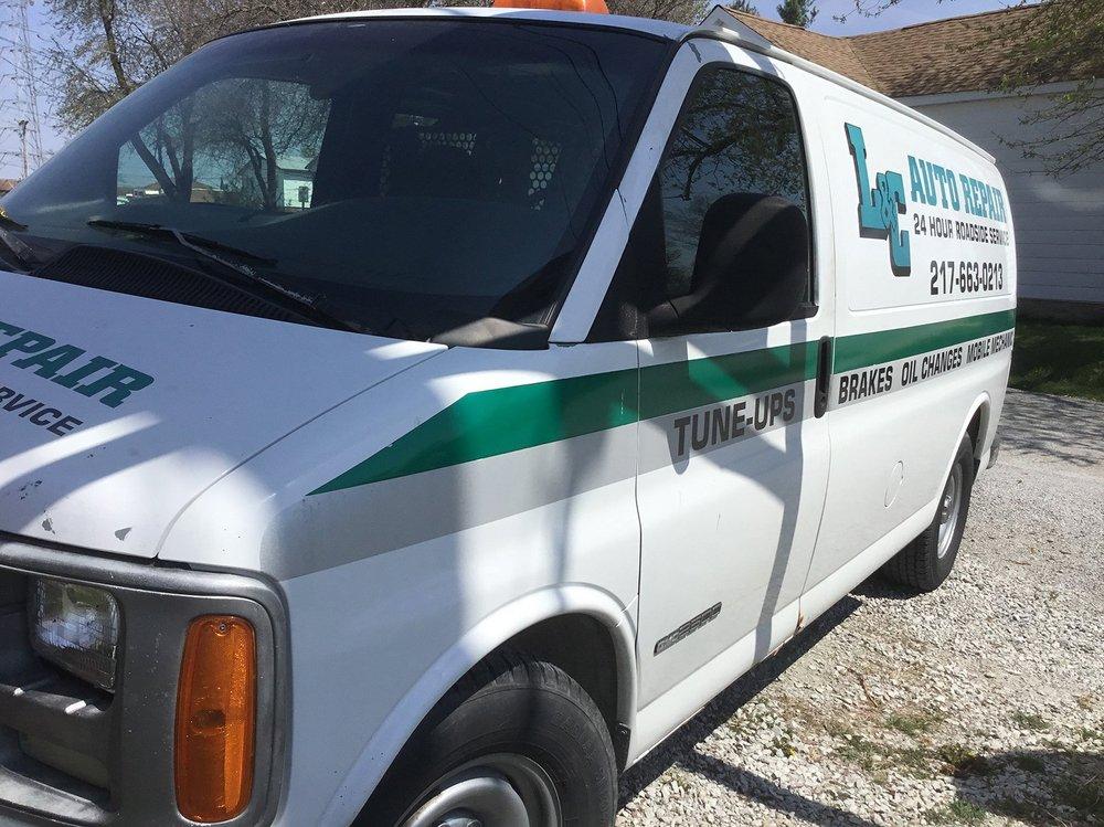 L & C Auto Repair & Tire: 1700 S Banker St, Effingham, IL