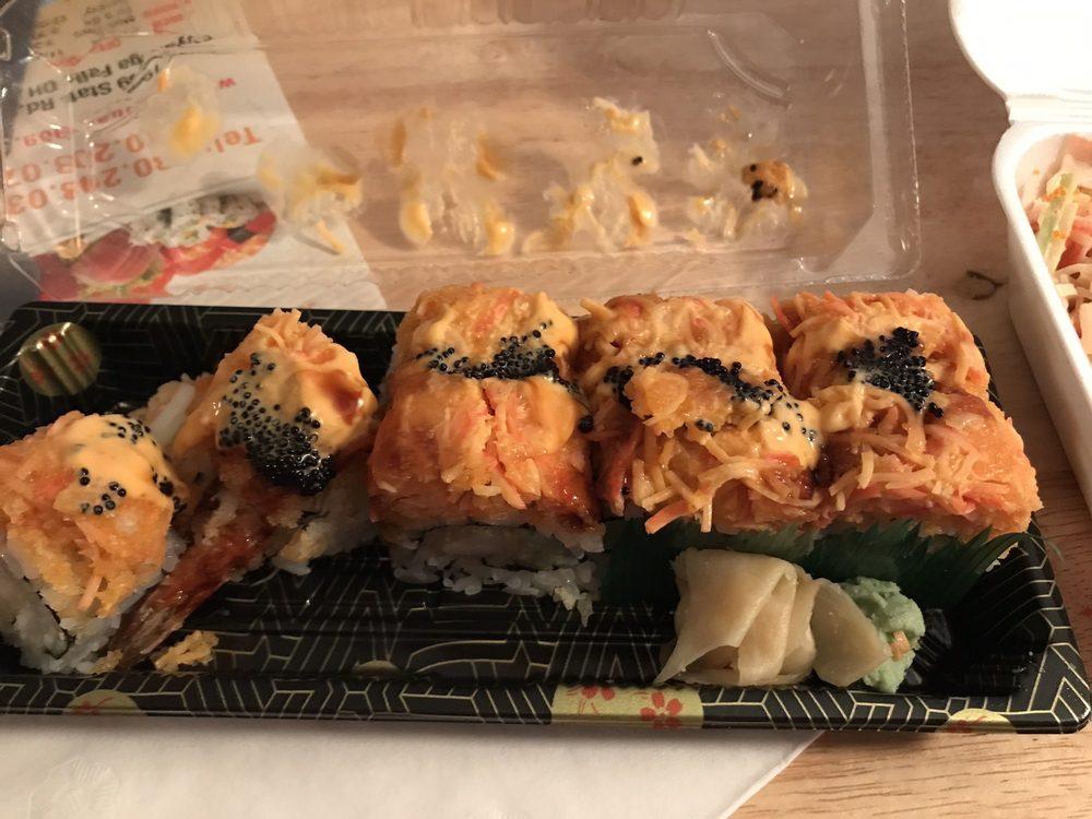 Food from Ichiban Sushi