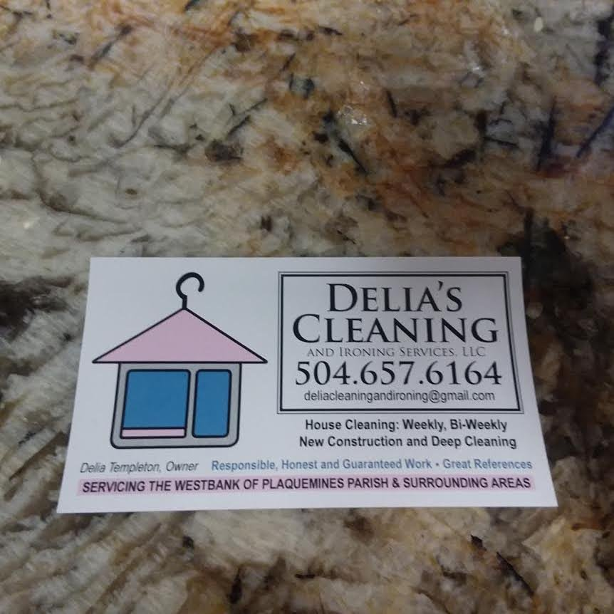 Delia's Cleaning and Ironing Services: Belle Chasse, LA