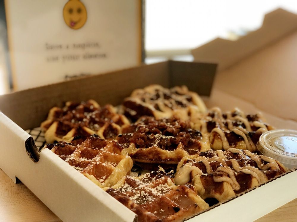 The Smashed Waffle Company: 718 Dickinson Ave, Greenville, NC