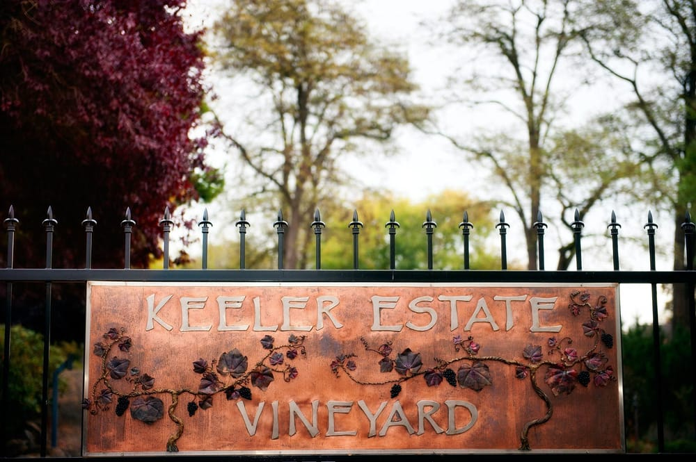 Keeler Estate Vineyard: 5100 SE Rice Ln, Amity, OR
