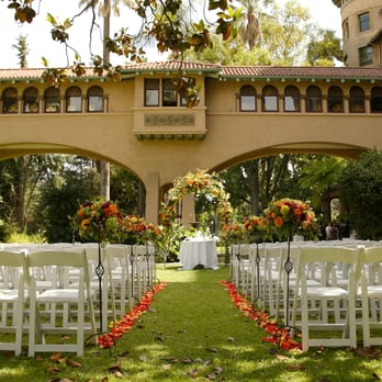 Photo Of Castle Green Pasadena Ca United States Outside Ceremony By The