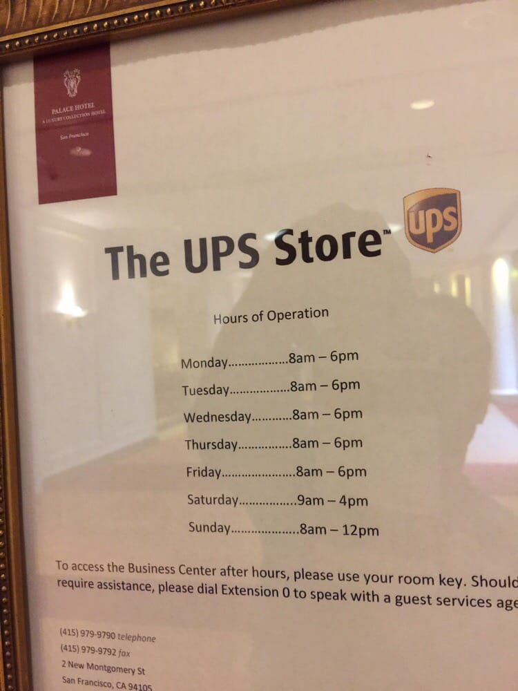 62972d816dc UPS Store advertised opening hours that exclude notifying closed for ...