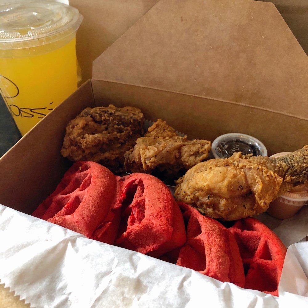 Food from Brooklyn Waffle House