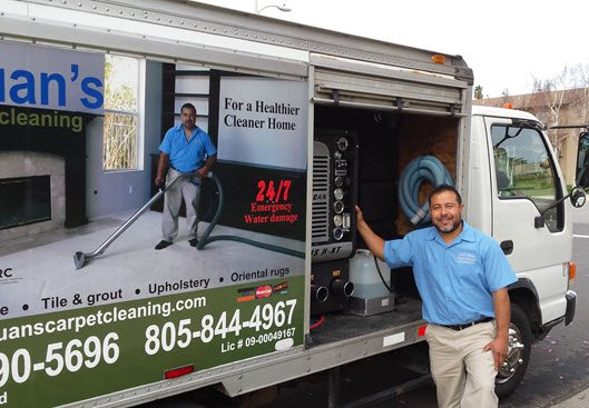 Juan's Carpet Cleaning: 201 Carne Rd, Ojai, CA