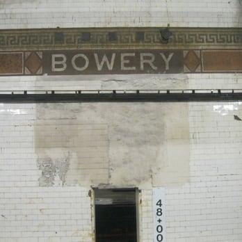 Photo of MTA - Bowery Subway Station - New York NY United States. & MTA - Bowery Subway Station - Metro Stations - Bowery And Delancey ... azcodes.com