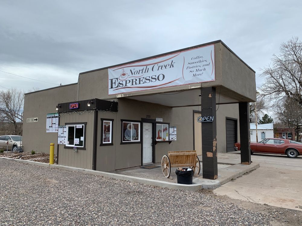 North Creek Espresso: 335 S Main St, Beaver, UT