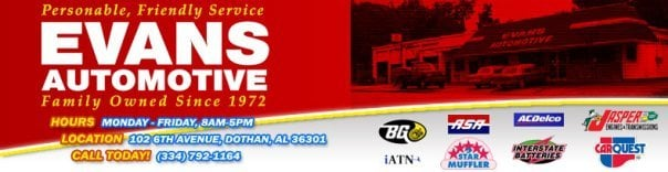 Evans Automotive Service: 102 Sixth Ave, Dothan, AL