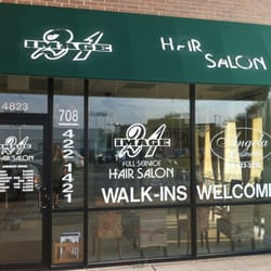 Image 21 hair salon hairdressers 4823 w 95th st oak for 95th street salon