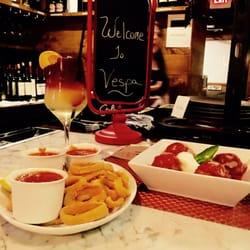 Photo Of Vespa Italian Kitchen Bar Farmingdale Ny United States Calamari