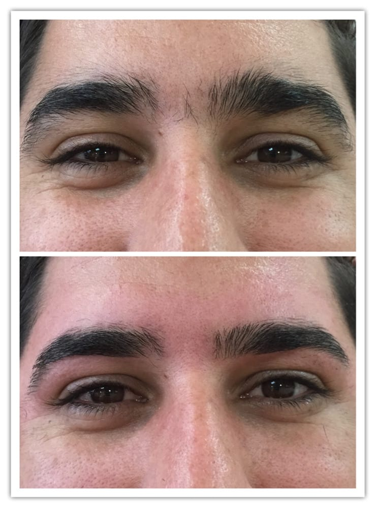 Man Eyebrows Waxing Yelp