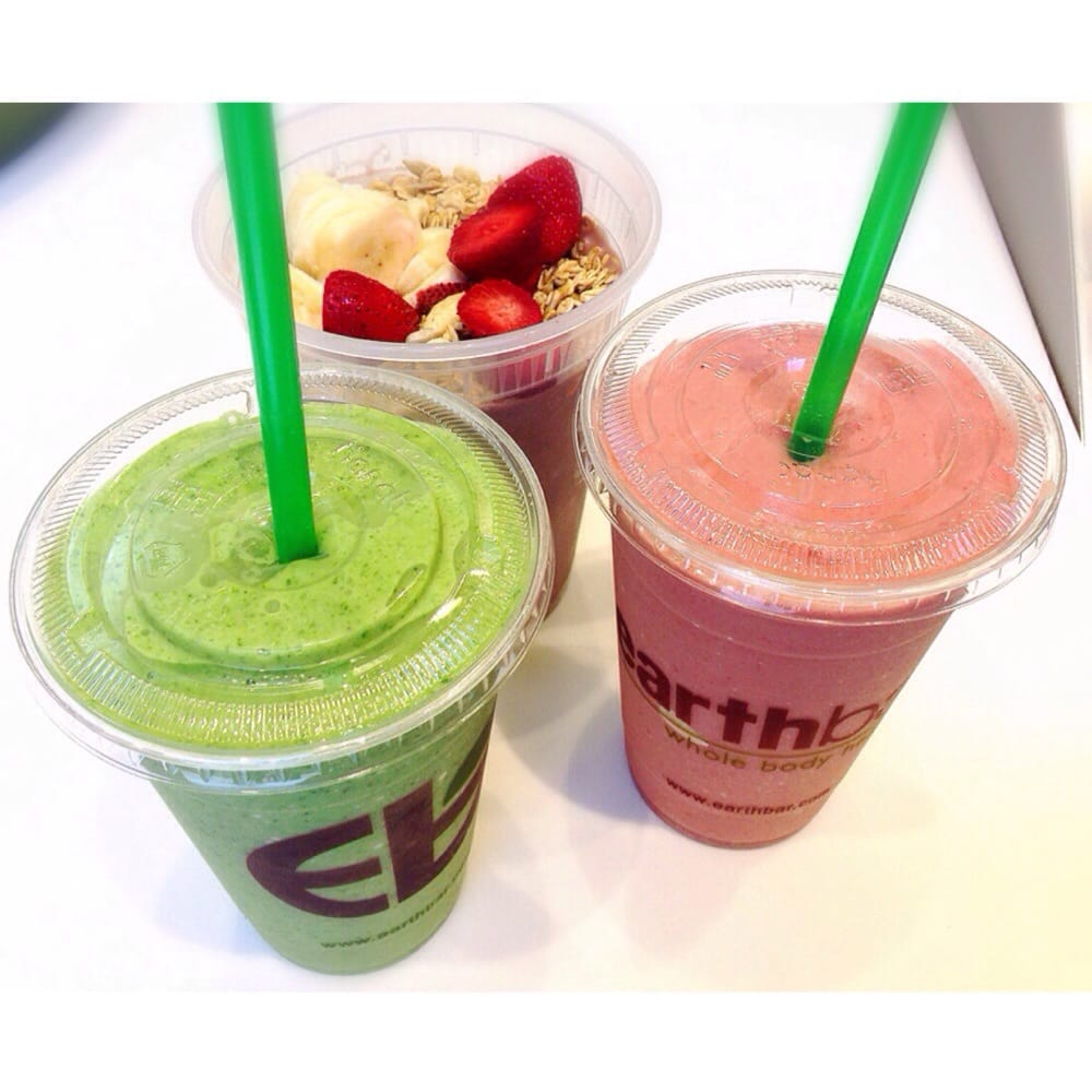 Green Detox Slim Down Smoothie And Acai Bowl Yelp Detoxslim Photo Of Earthbar San Francisco Ca United States