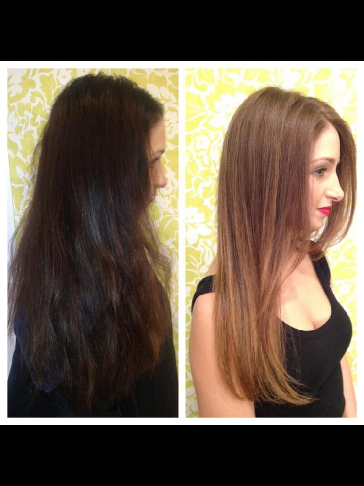 Before And After By Emi With Davines Color Yelp