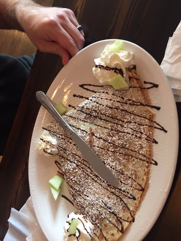 Food from La Crepe Bakery & Cafe