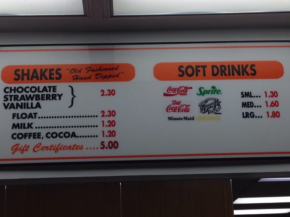 dicks hamburgers menu