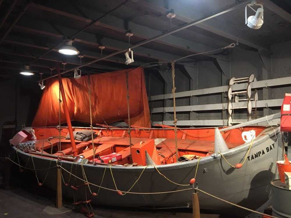 American Victory Ship & Museum: 705 Channelside Dr, Tampa, FL