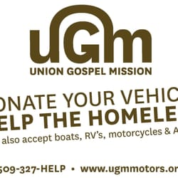 Union gospel mission motors asociaciones sin fines de for Union gospel motors spokane