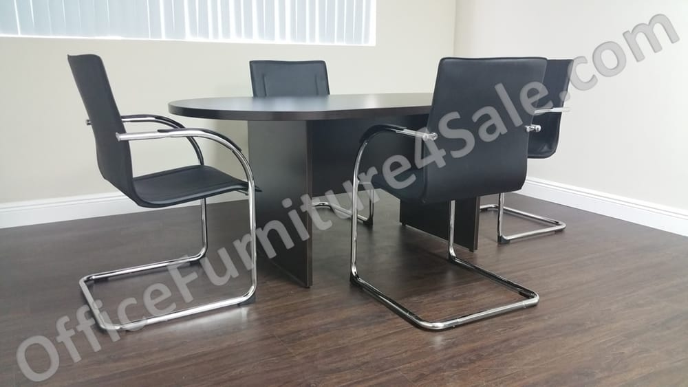 6 ft racetrack conference table with chairs yelp