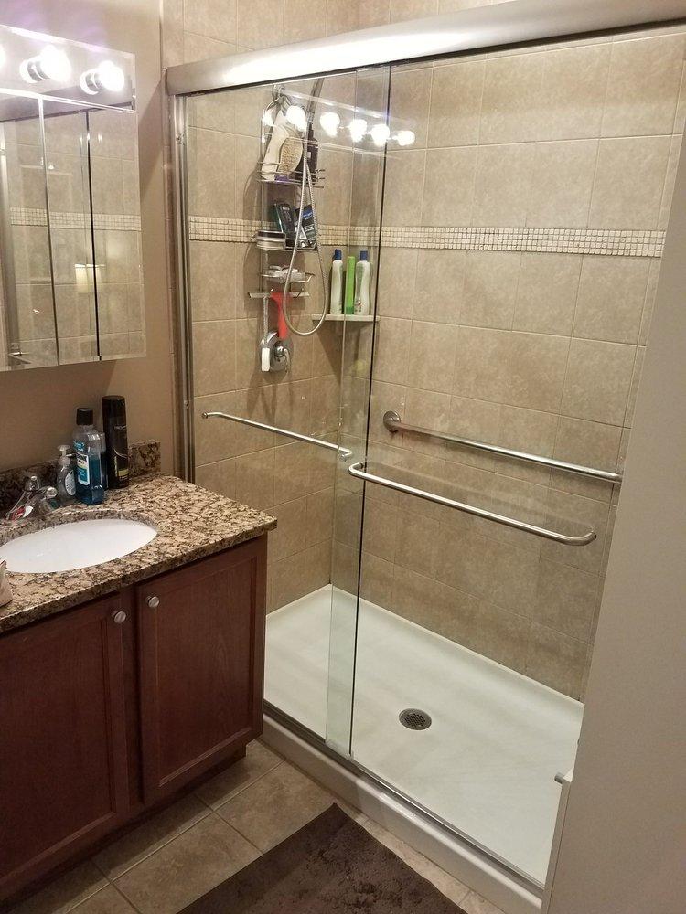 The Shower Door Glass Amp Mirrors 140 Jericho Tpke