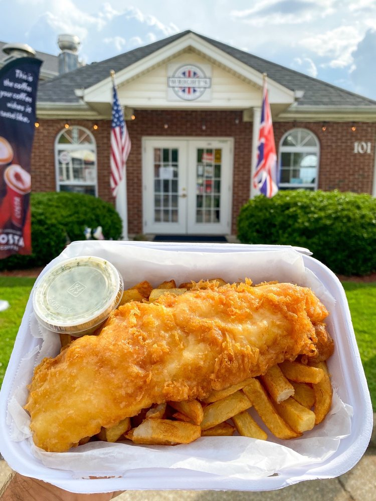 Wright's Fish & Chips: 101 Colony Park Dr, Cumming, GA
